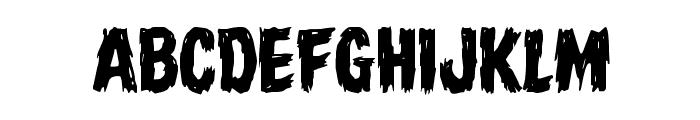 Dire Wolf Regular Font UPPERCASE