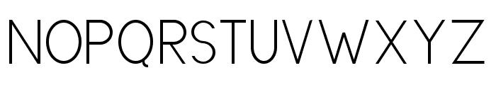 DirectoryRegular Font UPPERCASE