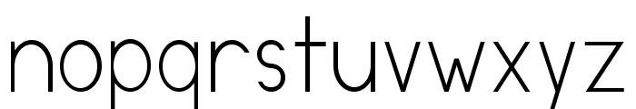 DirectoryRegular Font LOWERCASE