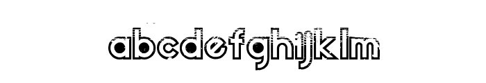 Dirt2 Echo Font LOWERCASE