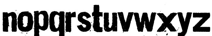 Dirt2 Stickler Font UPPERCASE