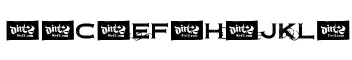 Dirt2Copperbolt Font UPPERCASE