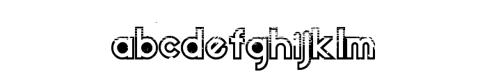 Dirt2Echo Font LOWERCASE