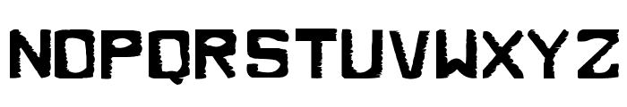 Dirty Dung Solid Font LOWERCASE
