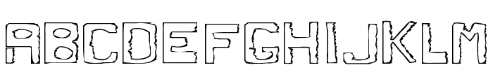 Dirty Dung Font UPPERCASE