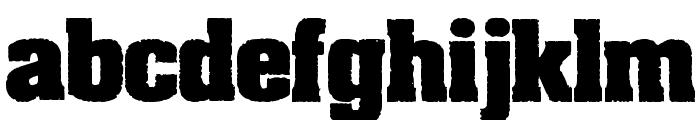 Dirty Old Town Font LOWERCASE