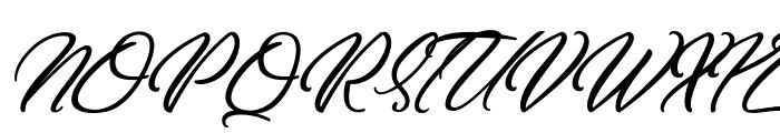 DirtyBitch Font UPPERCASE