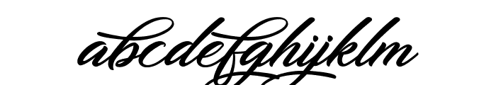 DirtyBitch Font LOWERCASE