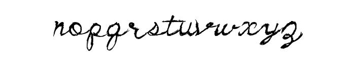 DirtyCursive Font UPPERCASE