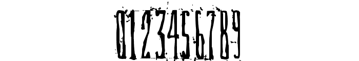 DirtyDeco Font OTHER CHARS