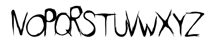 DirtyFeature Font UPPERCASE