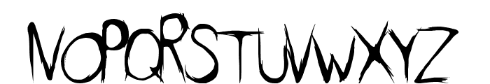 DirtyFeature Font LOWERCASE