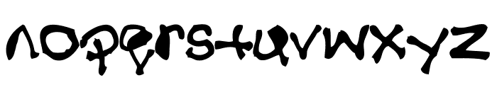 Disabuser Font LOWERCASE