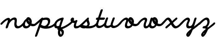 Discipuli Britannica Bold Font LOWERCASE