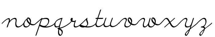 Discipuli Britannica Font LOWERCASE