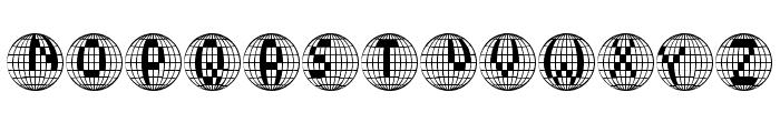 Disco 2000 Font UPPERCASE