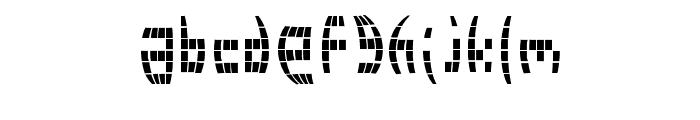 Disco 2000 Font LOWERCASE
