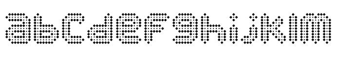 Disco Bling Regular Font LOWERCASE