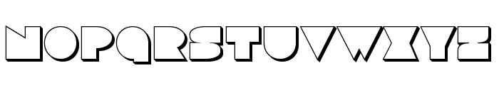Disco Deck 3D Font UPPERCASE
