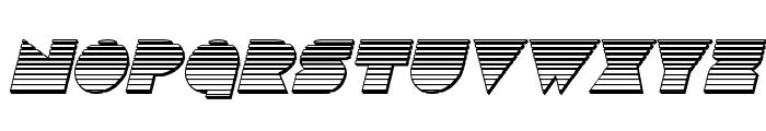 Disco Deck Chrome Italic Font LOWERCASE