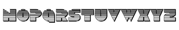 Disco Duck Chrome Font LOWERCASE