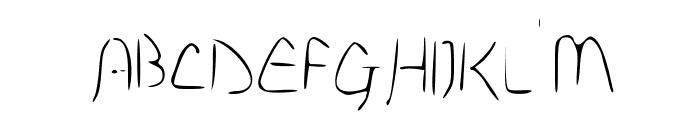 Disco-Grudge Lite (Apple) Medium Font UPPERCASE