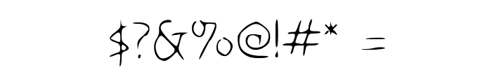 Disco-Grudge Lite [Windows] Medium Font OTHER CHARS