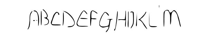 Disco-Grudge Lite [Windows] Medium Font UPPERCASE