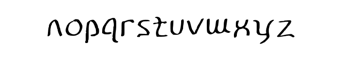Disco-Grudge Stroked [Window] Medium Font LOWERCASE
