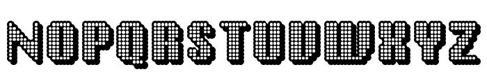 Disco Inferno Font UPPERCASE