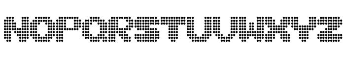 Disco never dies Font UPPERCASE