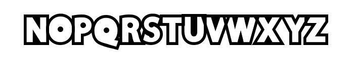 DiscoRush Font UPPERCASE
