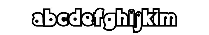 DiscoRush Font LOWERCASE