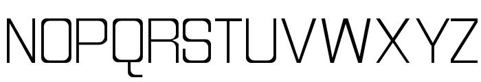 Discognate Light Font UPPERCASE