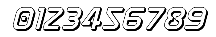 Discotechia 3D Font OTHER CHARS
