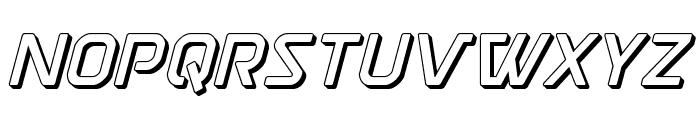 Discotechia 3D Font LOWERCASE