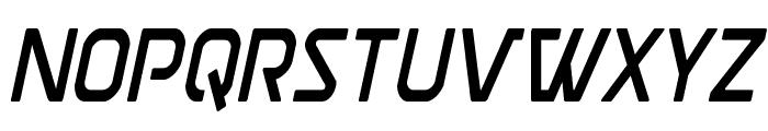 Discotechia Condensed Font LOWERCASE