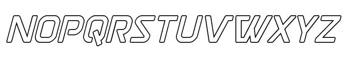 Discotechia Outline Font LOWERCASE