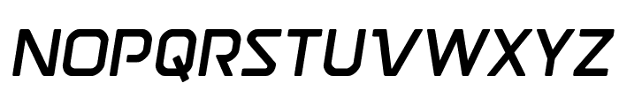 Discotechia Semi-Italic Font UPPERCASE