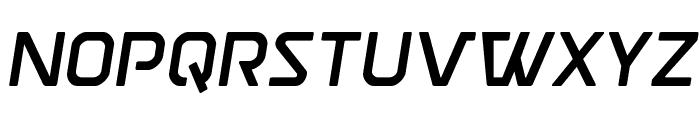 Discotechia Semi-Italic Font LOWERCASE