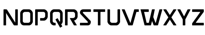 Discotechia Straight Font LOWERCASE
