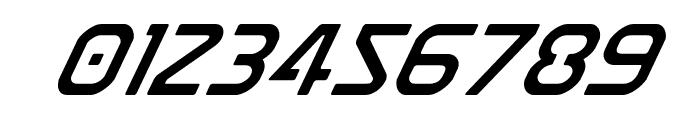 Discotechia Super-Italic Font OTHER CHARS