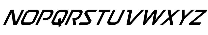 Discotechia Super-Italic Font UPPERCASE