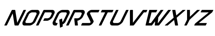 Discotechia Super-Italic Font LOWERCASE