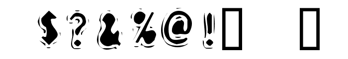 Discount Inferno Bold Font OTHER CHARS