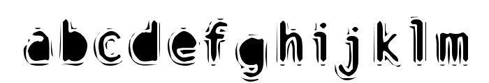 Discount Inferno Bold Font LOWERCASE