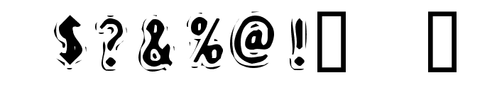 Discount Inferno Font OTHER CHARS