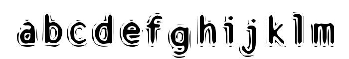 Discount Inferno Font LOWERCASE