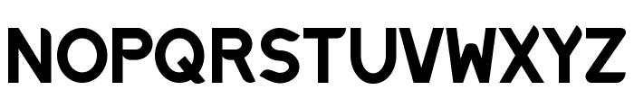 Discreet Bold Font UPPERCASE