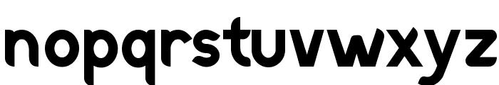 Discreet Bold Font LOWERCASE
